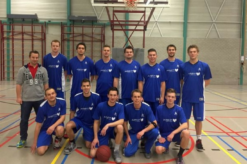 Adagium sponsor Heren 2 Basketball vereniging Attacus