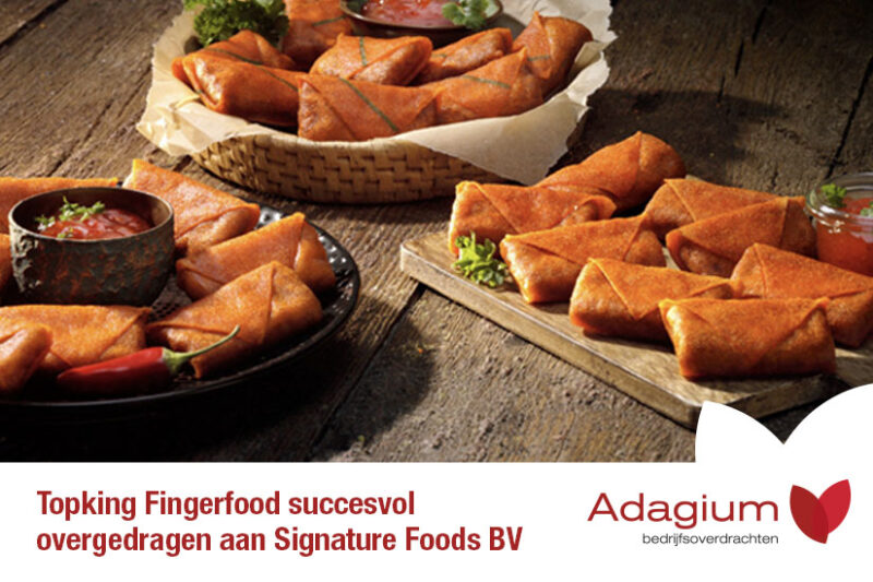 Deal Topking Fingerfood - Adagium