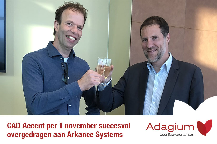 CAD Accent B.V. overgedragen aan Arkance Systems SAS