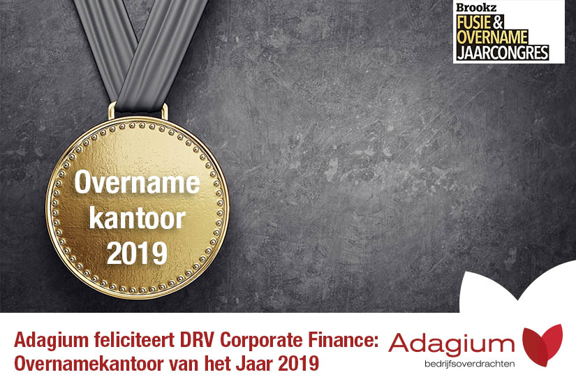 Adagium feliciteert DRV Corporate Finance