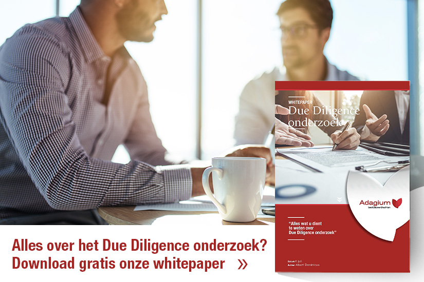 Download gratis de whitepaper Due Diligence onderzoek