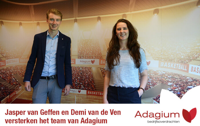Junior Corporate Finance Adivsieur - Adagium - Jasper en Demi